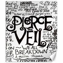 Pierce The Veil Canvas 20  X 24