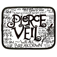 Pierce The Veil Netbook Case (large)