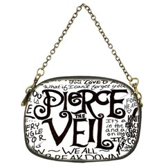 Pierce The Veil Chain Purses (two Sides)  by Samandel