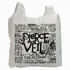 Pierce The Veil Recycle Bag (two Side)  by Samandel