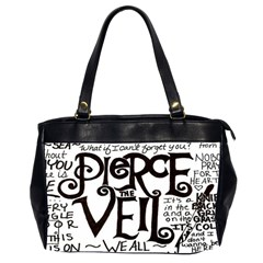 Pierce The Veil Office Handbags (2 Sides)  by Samandel