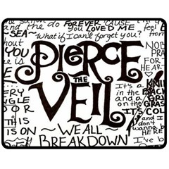 Pierce The Veil Fleece Blanket (medium)