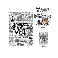 Pierce The Veil Playing Cards 54 (mini)  by Samandel