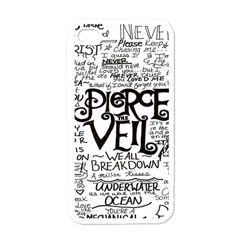 Pierce The Veil Apple Iphone 4 Case (white) by Samandel
