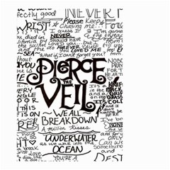 Pierce The Veil Small Garden Flag (two Sides) by Samandel