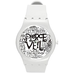 Pierce The Veil Round Plastic Sport Watch (m)