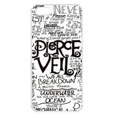 Pierce The Veil Apple Iphone 5 Seamless Case (white) by Samandel