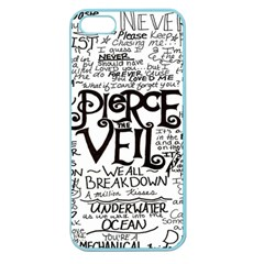 Pierce The Veil Apple Seamless Iphone 5 Case (color) by Samandel