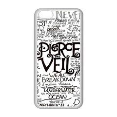 Pierce The Veil Apple Iphone 5c Seamless Case (white) by Samandel