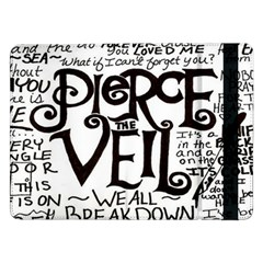 Pierce The Veil Samsung Galaxy Tab Pro 12 2  Flip Case by Samandel