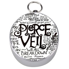 Pierce The Veil Silver Compasses by Samandel