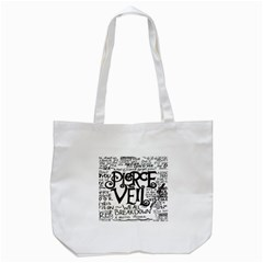 Pierce The Veil Tote Bag (white) by Samandel