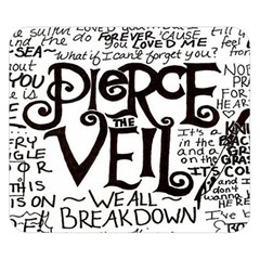 Pierce The Veil Double Sided Flano Blanket (small)  by Samandel