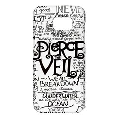 Pierce The Veil Samsung Galaxy S7 Edge Hardshell Case by Samandel