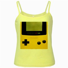 Game Boy Color Yellow Yellow Spaghetti Tank