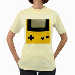 Game Boy Color Yellow Women s Yellow T Shirt