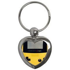 Game Boy Color Yellow Key Chains (heart)