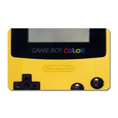Game Boy Color Yellow Magnet (rectangular)