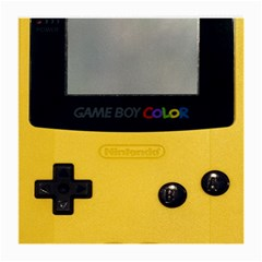 Game Boy Color Yellow Medium Glasses Cloth (2 Side) by Samandel