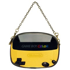 Game Boy Color Yellow Chain Purses (one Side)