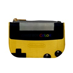 Game Boy Color Yellow Mini Coin Purses