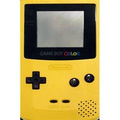 Game Boy Color Yellow 5 5  X 8 5  Notebooks