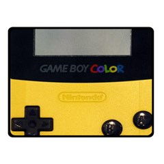 Game Boy Color Yellow Fleece Blanket (small)
