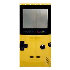 Game Boy Color Yellow Shower Curtain 36  X 72  (stall)  by Samandel