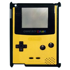Game Boy Color Yellow Apple Ipad 2 Case (black)