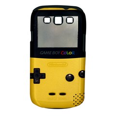 Game Boy Color Yellow Samsung Galaxy S Iii Classic Hardshell Case (pc+silicone)