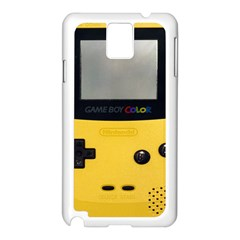 Game Boy Color Yellow Samsung Galaxy Note 3 N9005 Case (white)