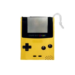 Game Boy Color Yellow Drawstring Pouches (small)