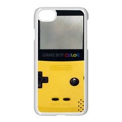 Game Boy Color Yellow Apple Iphone 7 Seamless Case (white) by Samandel