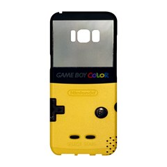 Game Boy Color Yellow Samsung Galaxy S8 Hardshell Case