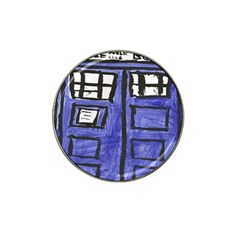 Tardis Painting Hat Clip Ball Marker (10 Pack)