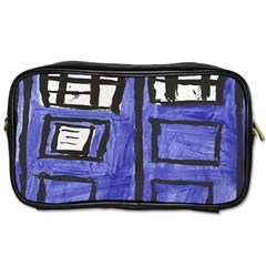 Tardis Painting Toiletries Bags 2 Side