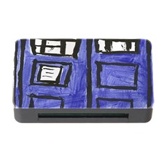 Tardis Painting Memory Card Reader With Cf