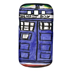 Tardis Painting Samsung Galaxy S Iii Classic Hardshell Case (pc+silicone)
