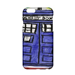 Tardis Painting Apple Iphone 6/6s Hardshell Case by Samandel