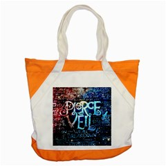 Pierce The Veil Quote Galaxy Nebula Accent Tote Bag by Samandel