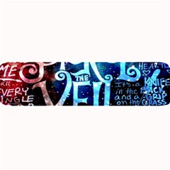 Pierce The Veil Quote Galaxy Nebula Large Bar Mats