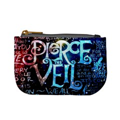 Pierce The Veil Quote Galaxy Nebula Mini Coin Purses by Samandel