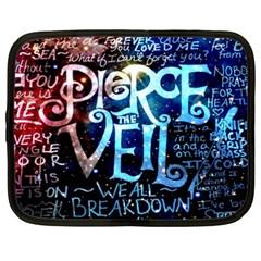 Pierce The Veil Quote Galaxy Nebula Netbook Case (xxl)  by Samandel