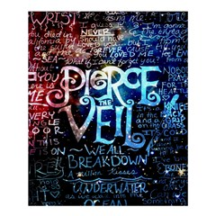 Pierce The Veil Quote Galaxy Nebula Shower Curtain 60  X 72  (medium)  by Samandel