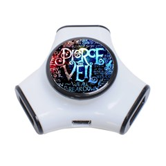 Pierce The Veil Quote Galaxy Nebula 3 Port Usb Hub