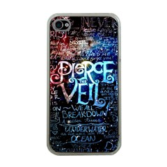 Pierce The Veil Quote Galaxy Nebula Apple Iphone 4 Case (clear) by Samandel