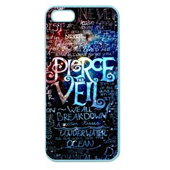 Pierce The Veil Quote Galaxy Nebula Apple Seamless Iphone 5 Case (color) by Samandel