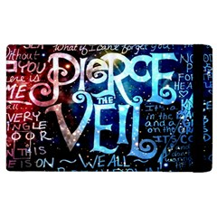 Pierce The Veil Quote Galaxy Nebula Apple Ipad 3/4 Flip Case by Samandel