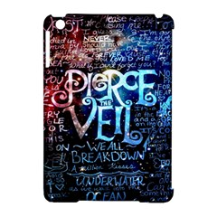 Pierce The Veil Quote Galaxy Nebula Apple Ipad Mini Hardshell Case (compatible With Smart Cover) by Samandel