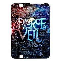 Pierce The Veil Quote Galaxy Nebula Kindle Fire Hd 8 9  by Samandel